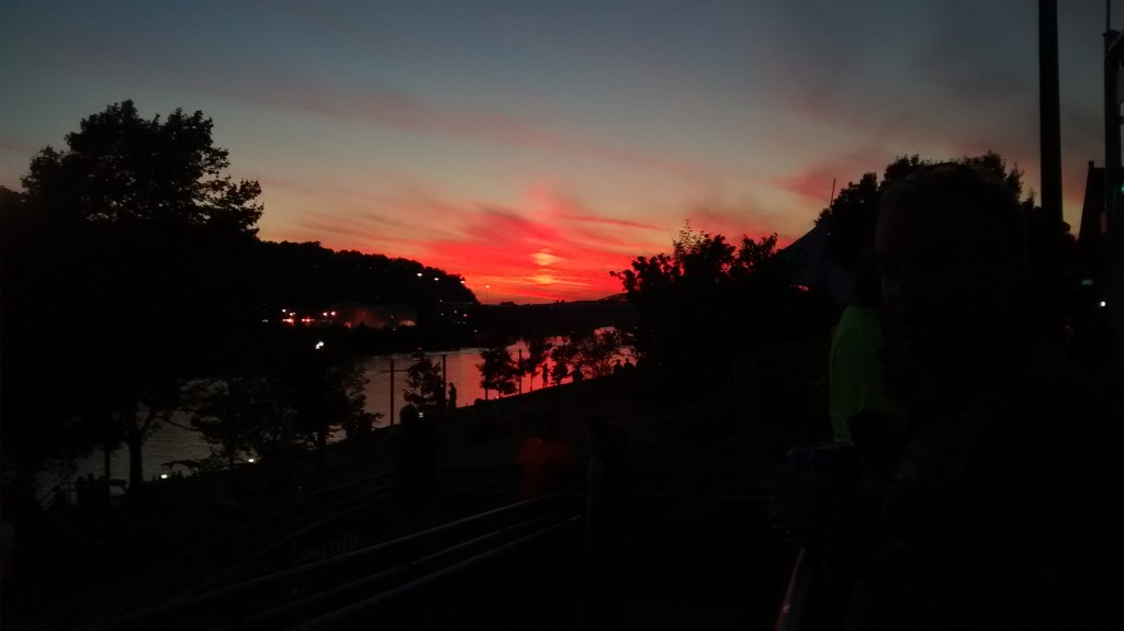 Charleston, WV sunset